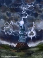 Lightning Tower by rafaelventura