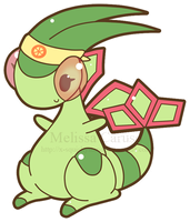 Flygon Point Commission by x-SquishyStar-x
