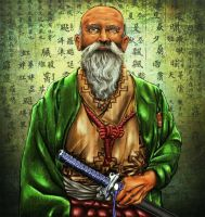 Old Ainu by AndSimione