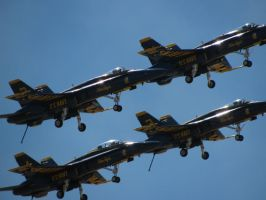 Blue Angels 12 by mystangelwingsstock
