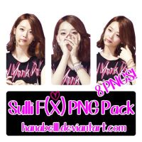 Sulli F(x) PNG Pack by HanaBell1