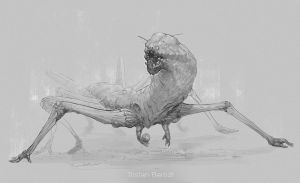 Creature Design __01 by TristanBerndtArt