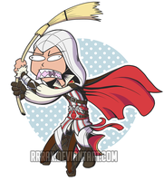 I'm gonna assassinate you with a broom! by RRRAX