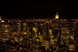 NYC Skyline by ashlite