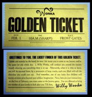 Golden Ticket by jenggakun