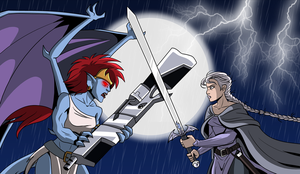 Demona versus Eve by DTaina