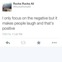 only we nuckas know whys really positive by Mikeoeagle