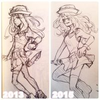 Serena Redraw meme by aoi-purin