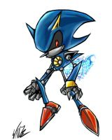 Metal Sonic by BaneNascent