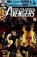 King Size Annual Avengers 10 by Blastalx
