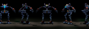 Robot01 by 3uhox