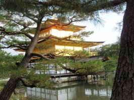 Kinkaku-ji Temple 05, Kyoto, Japan by mac-chipsie