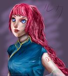 VOCALOID: Chinese Luka by IviEnchant