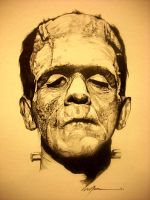 frankenstein by arty147