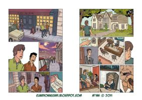 Tav color - comics pages 2 by ClaudioNaccari