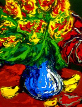 Blue Vase by Thelonious23