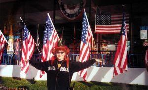 Myself and USA flags store by SOFIAMETALQUEEN