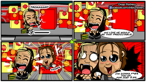 Seth Rollins and Dean Ambrose - WWE Comic Strip 08 by kapaeme
