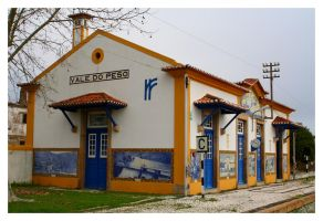 Train Station of Vale do Peso II by FilipaGrilo