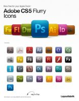 CS5 Flurry Icons by Layoutfabrik