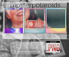 POLAROIDS (3 HIPSTER PNG'S) by iLegoDream