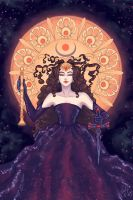 The Queen of the Night v.2 by MorganeDeMatons