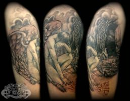 Sketch angel by state-of-art-tattoo