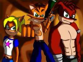 Team Bandicoot by ewered