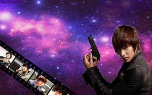 Lee Min Ho Wallpaper by BlackBloodFire