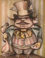 A fatter mad hatter by HOMELYVILLAIN
