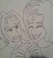 dan and arin inked by VermillionUmbra
