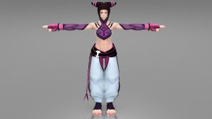 Juri Han Skin Shader render test update by KSE25