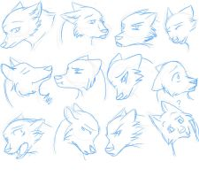 Face Expression Practice by CheshireWolf97