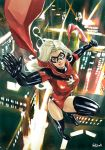 Ms Marvel in Big city nights by Vandrell