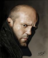 Jason Statham by Shaytan666
