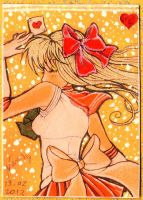 ACEO 1: Sailor Venus by nanako87