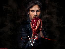 Damon Salvatore Season 3 by SPRSPRsDigitalArt