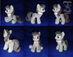 COMMISSION: Octavia 10 inches plushie by SunflowerTiger