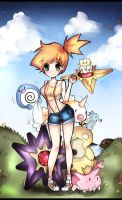 Pokemon Misty by Geegeet
