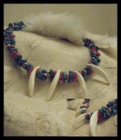Coyote Totem Choker by cloudstar-wolf