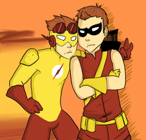 Roy and Wally by Kaiqx