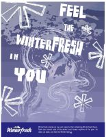 Winter Fresh Ad Series 4 of 4 by wangfordesign