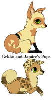 2 Pups to ~peach-ferret by MichelsAdoptions