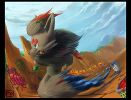 The REAL Zorua by HeartGold