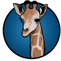 Giraffe Logo by Phil-Monk