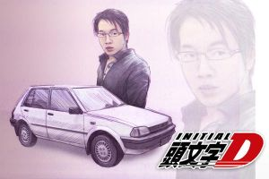 Initial D by coldsoba