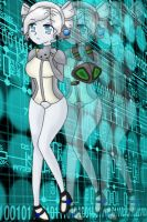 Techno Girl by MegumiHeart