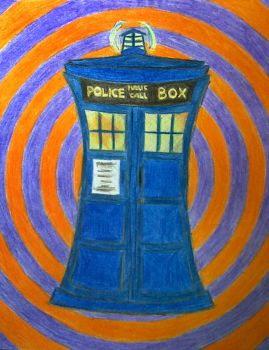The Tardis by Stassiana