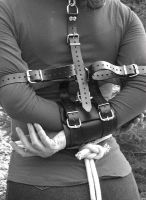 in leather restrains by jurlanero