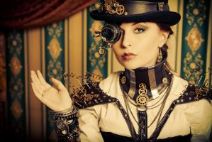 She is steampunk by Luria-XXII